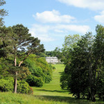 View of Antony House - Antony Woodland Garden