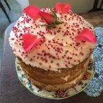 Rose Water cake Antony Woodland Garden Tea room