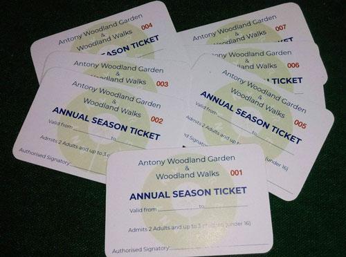 Antony Woodland Garden Tickets
