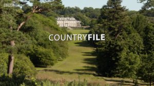 BBC Countryfile at Antony Woodland Garden